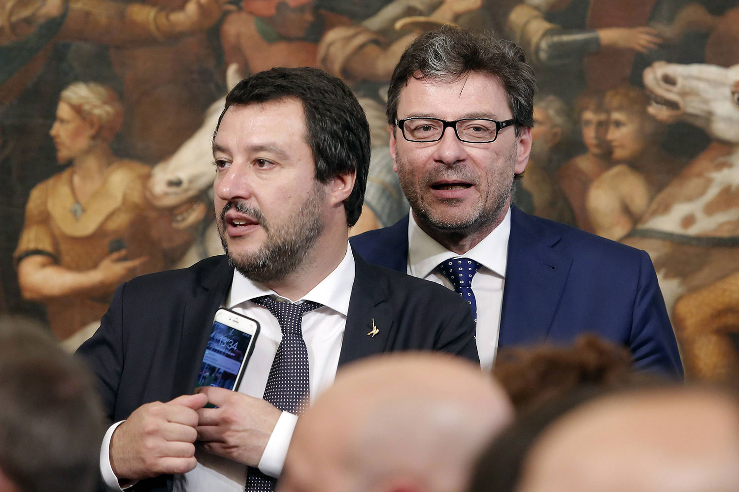To Be or Not To Be Eurosceptic: Salvini's League between Government and Opposition