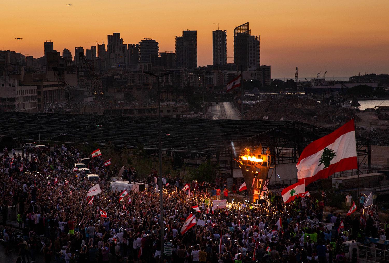 Lebanon's Never-Ending Crisis Following The Beirut Blast