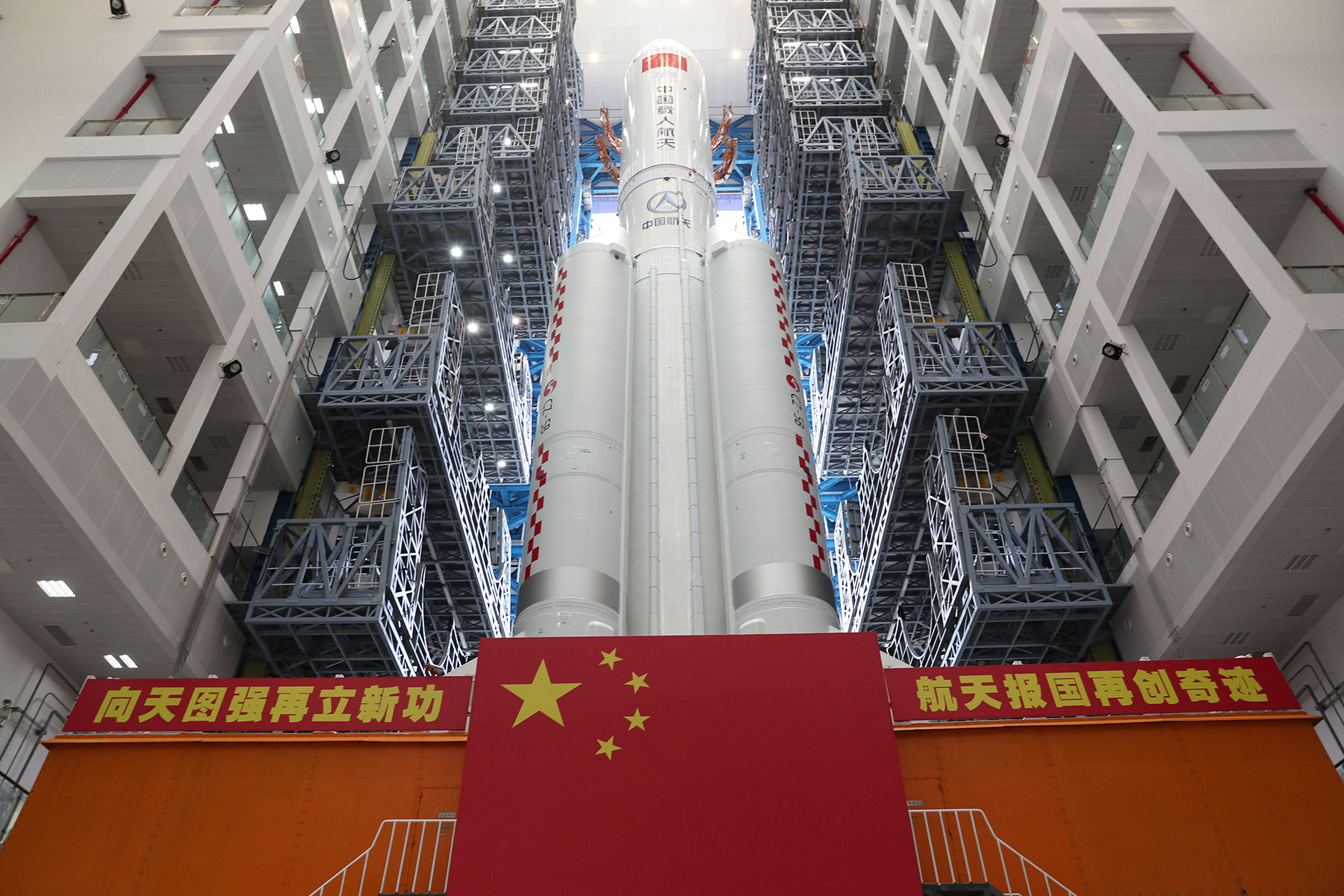 中国在太空的成功