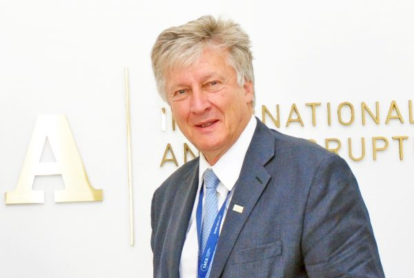 Dean Dr. Thomas Stelzer of the Vienna-based International Anti-Corruption Academy