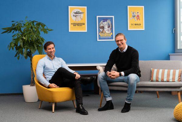 Founders of GoStudent Gregor Müller I Felix Ohswald