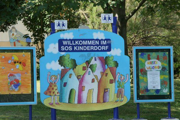 SOS Kinderdorf entrance
