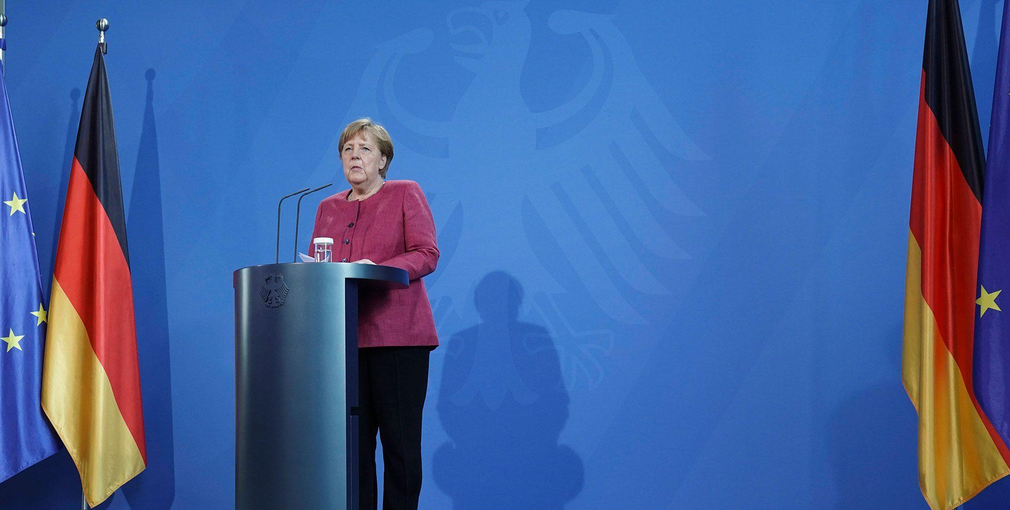 Merci and Adieu, Mutti Merkel!