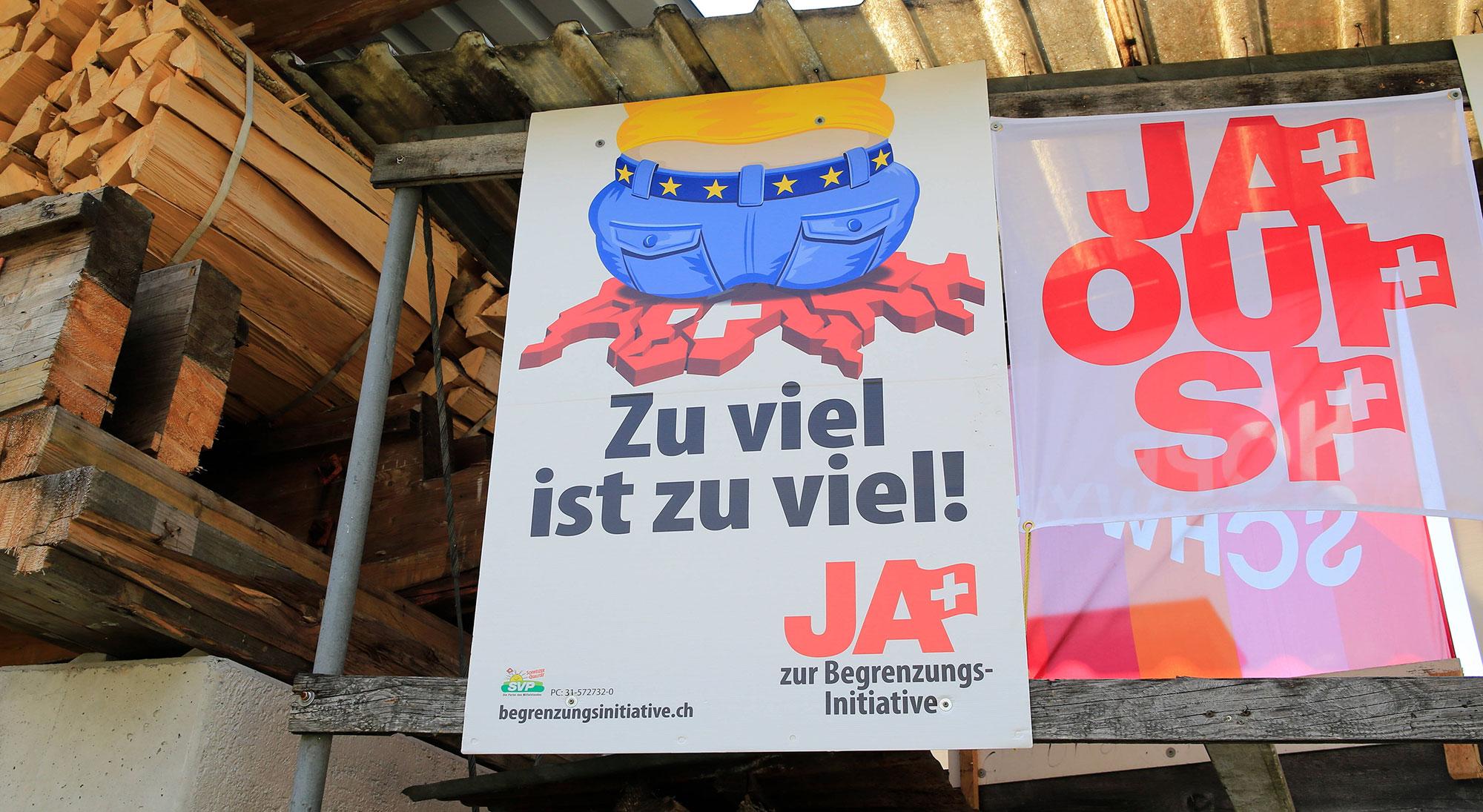 Switzerland-EU Relationship Breaks Down